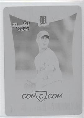 2008 Bowman Draft Picks & Prospects - Prospects - Printing Plate Black #BDPP1 - Rick Porcello /1