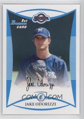 2008 Bowman Draft Picks & Prospects - Prospects #BDPP51 - Jake Odorizzi