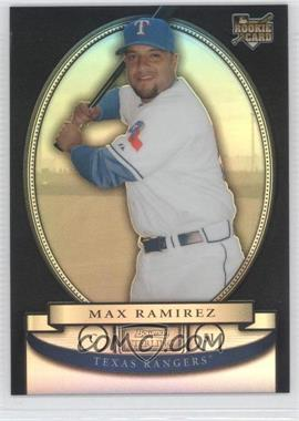 2008 Bowman Sterling - [Base] - Black Refractor #BS-MRR - Max Ramirez /25