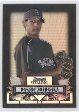 2008 Bowman Sterling - Prospects - Black Refractor #BSP-AR - Aneury Rodriguez /25
