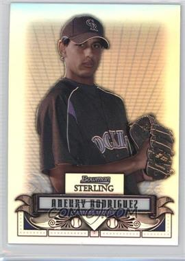 2008 Bowman Sterling - Prospects - Refractor #BSP-AR - Aneury Rodriguez /199