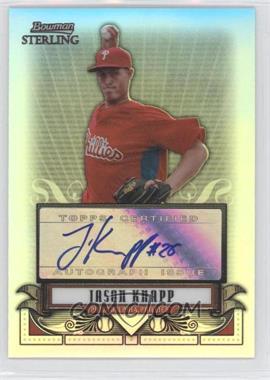 2008 Bowman Sterling - Prospects - Refractor #BSP-JK - Jason Knapp /199