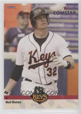 2008 Choice Comstar Federal Credit Union Frederick Keys - [Base] #25 - Matt Wieters