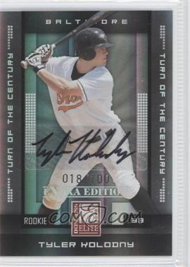 2008 Donruss Elite Extra Edition - [Base] - Turn of the Century Autographs [Autographed] #162 - Tyler Kolodny /100