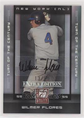 2008 Donruss Elite Extra Edition - [Base] - Turn of the Century Autographs [Autographed] #96 - Wilmer Flores /99