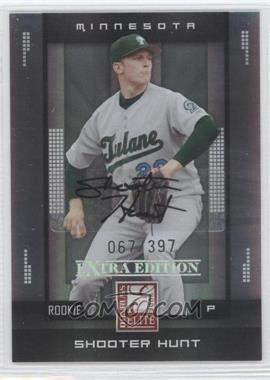 2008 Donruss Elite Extra Edition - [Base] #161 - Shooter Hunt /397