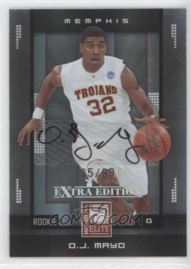 2008 Donruss Elite Extra Edition - [Base] #200 - O.J. Mayo /99