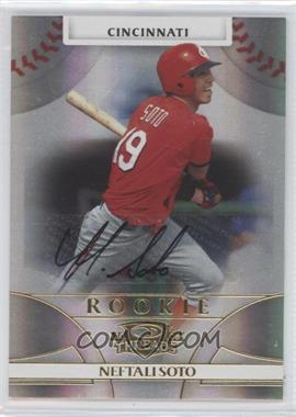 2008 Donruss Threads - [Base] - Gold Signatures #110 - Neftali Soto /100