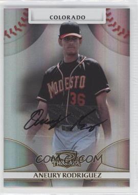 2008 Donruss Threads - [Base] - Gold Signatures #59 - Aneury Rodriguez /975