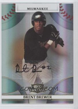 2008 Donruss Threads - [Base] - Gold Signatures #70 - Brent Brewer /470