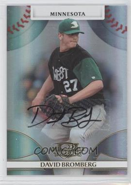 2008 Donruss Threads - [Base] - Gold Signatures #71 - David Bromberg /999