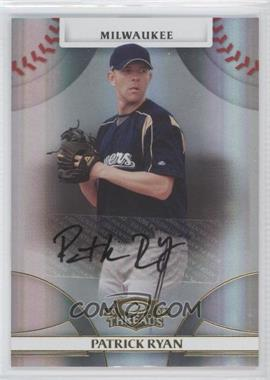 2008 Donruss Threads - [Base] - Gold Signatures #83 - Patrick Ryan /499