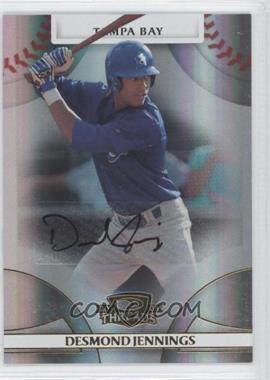 2008 Donruss Threads - [Base] - Gold Signatures #96 - Desmond Jennings /749