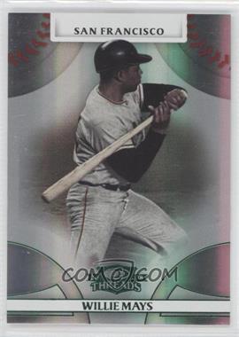 2008 Donruss Threads - [Base] - Green Century Proof #42 - Willie Mays /250