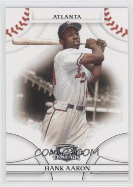 2008 Donruss Threads - [Base] #1 - Hank Aaron