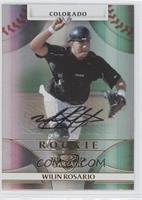 Rookie Autograph - Wilin Rosario /999