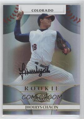 2008 Donruss Threads - [Base] #114 - Rookie Autograph - Jhoulys Chacin /1999