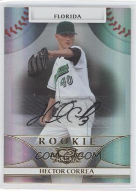 2008 Donruss Threads - [Base] #116 - Rookie Autograph - Hector Correa /999