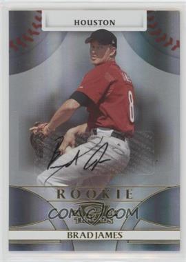 2008 Donruss Threads - [Base] #117 - Rookie Autograph - Brad James /1999