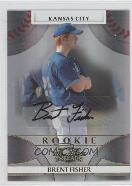 2008 Donruss Threads - [Base] #120 - Rookie Autograph - Brent Fisher /1058