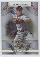 Rookie Autograph - Andrew Romine /875