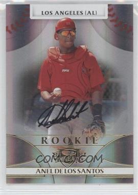 2008 Donruss Threads - [Base] #124 - Rookie Autograph - Anel De Los Santos /999