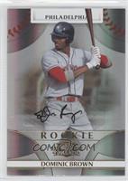 Rookie Autograph - Domonic Brown #/999
