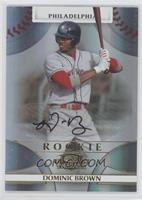 Rookie Autograph - Domonic Brown /999