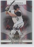 Rookie Autograph - Mike McBryde #/950