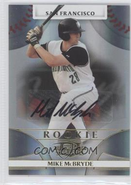 2008 Donruss Threads - [Base] #140 - Rookie Autograph - Mike McBryde /950