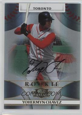 2008 Donruss Threads - [Base] #149 - Rookie Autograph - Yohermyn Chavez /999