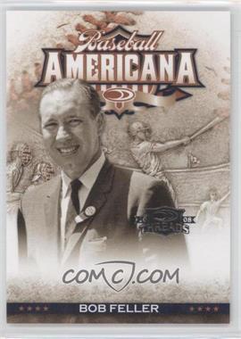 2008 Donruss Threads - Baseball Americana #BA-20 - Bob Feller /500
