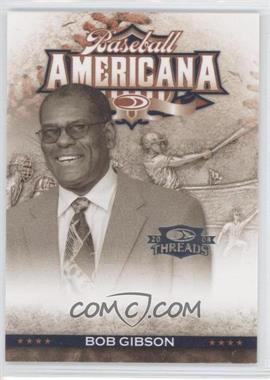 2008 Donruss Threads - Baseball Americana #BA-41 - Bob Gibson /500