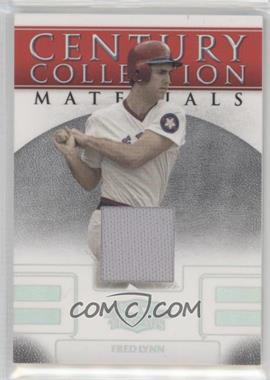 2008 Donruss Threads - Century Collection Materials #CCM-4 - Fred Lynn /100