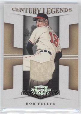 2008 Donruss Threads - Century Legends - Materials [Memorabilia] #CL-10 - Bob Feller /10