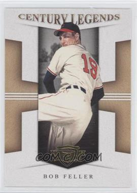 2008 Donruss Threads - Century Legends #CL-10 - Bob Feller