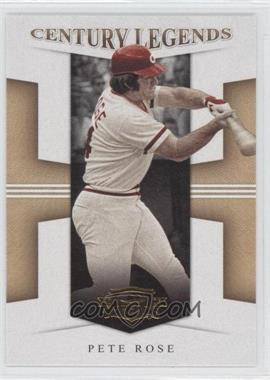2008 Donruss Threads - Century Legends #CL-14 - Pete Rose