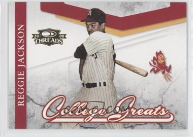 2008 Donruss Threads - College Greats #CG-2 - Reggie Jackson
