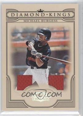 2008 Donruss Threads - Diamond Kings - Materials [Memorabilia] #DK-25 - Michael Burgess /250