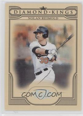 2008 Donruss Threads - Diamond Kings - Silver #DK-2 - Nolan Reimold /250