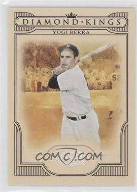 2008 Donruss Threads - Diamond Kings - Silver #DK-43 - Yogi Berra /250