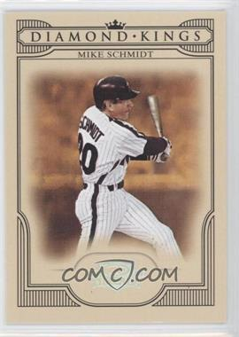 2008 Donruss Threads - Diamond Kings - Silver #DK-44 - Mike Schmidt /250