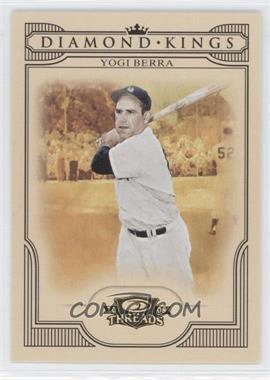 2008 Donruss Threads - Diamond Kings #DK-43 - Yogi Berra