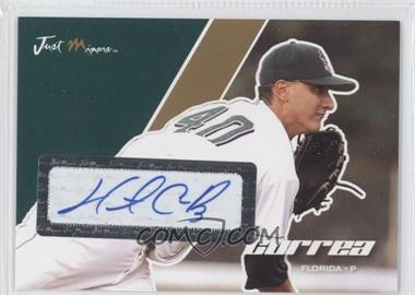 2008 Just Minors Just Autographs - [Base] - Gold Edition Autographs [Autographed] #12 - Hector Correa /50