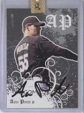 2008 Just Minors Justifiable - [Base] - Autographs [Autographed] #JF-40 - Aaron Poreda