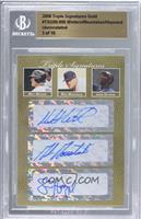 Matt Wieters, Mike Moustakas, Jason Heyward /10 [BGS AUTHENTIC]