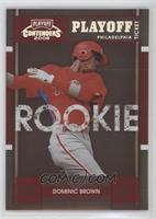 Dominic Brown #/199