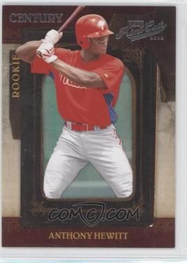 2008 Playoff Prime Cuts - [Base] - Century Silver #113 - Anthony Hewitt /25