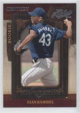 2008 Playoff Prime Cuts - [Base] - Century Silver #125 - Juan Ramirez /25