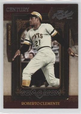 2008 Playoff Prime Cuts - [Base] - Century Silver #77 - Roberto Clemente /25